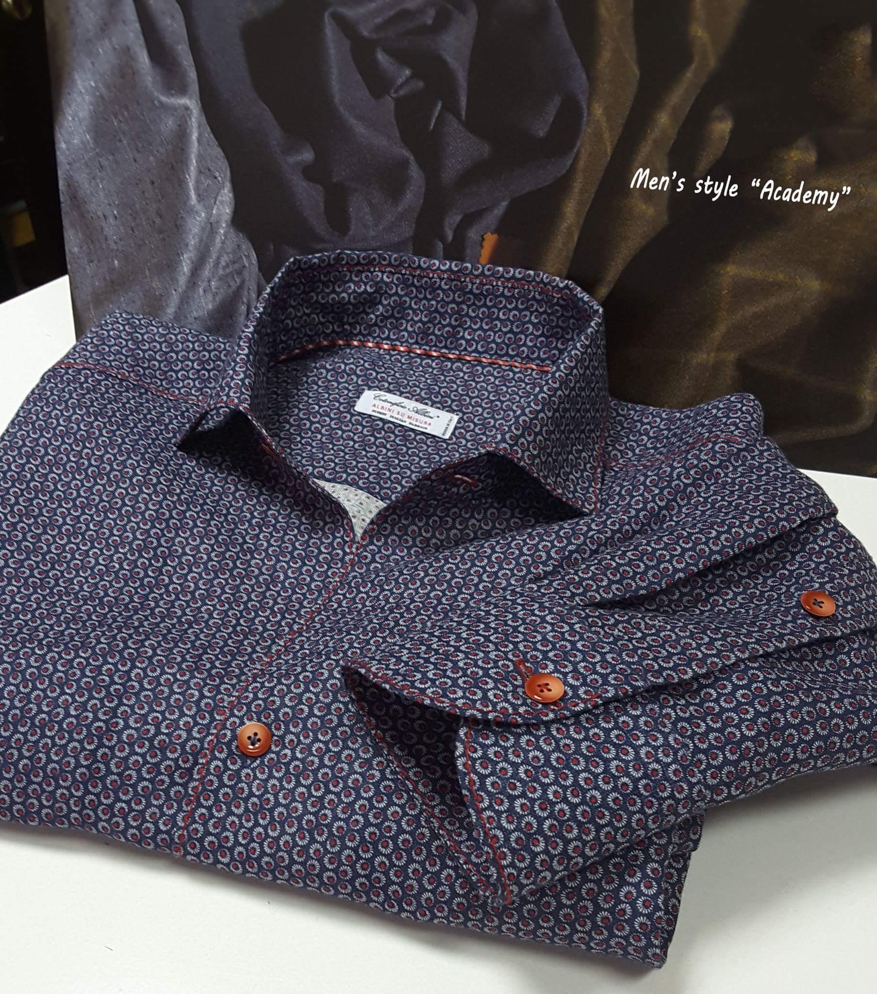 a5c07c4f3c6c Пошив мужской сорочки | Пошив мужских рубашек на заказ от ACADEMY