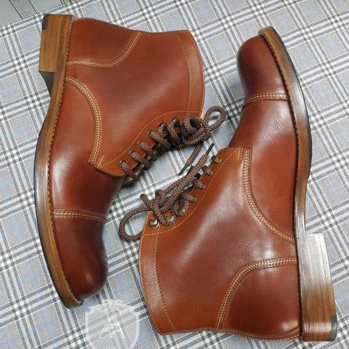 Ботинки кожаные ACADEMY BT9960