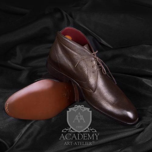 Ботинки кожаные Sutium BT9962