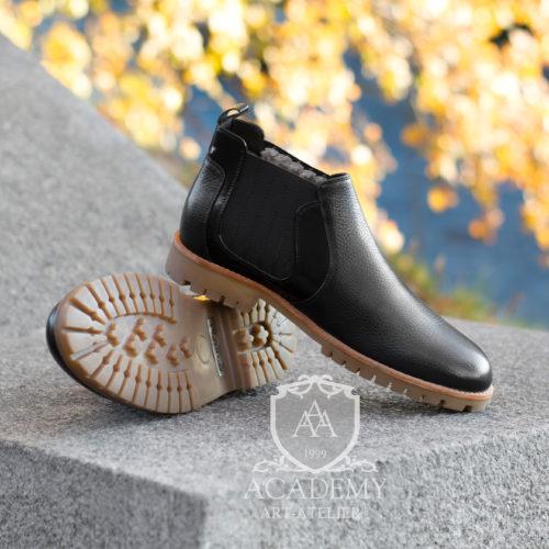 Ботинки-челси кожаные Sutium BT9963