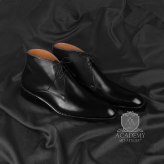 Ботинки кожаные ACADEMY BT9964
