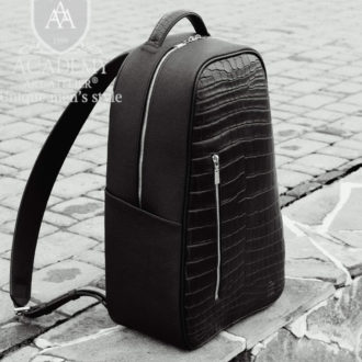 Рюкзак Academy R9971 (кожа крокодила)